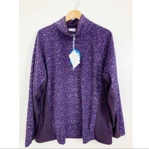 New Columbia Light Fleece Jacket Women's Plus